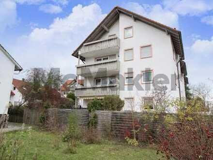 Sicher vermietete Kapitalanlage: Gepflegte 2-Zi.-ETW mit Balkon in Kaufbeuren im Allgäu