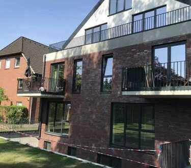 4 Zimmer-Neubau-Maisonette-Wohnung mit Gartenanteil zu vermieten!