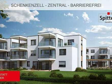 Berrierefreie 4,5 Zi-Pentauswohnung im Spannstatt-Quartier in Schenkenzell Baubeginn im Apr. 2021!