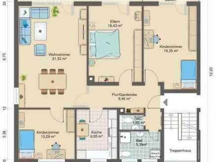 Freundliche 4-Zimmer-Wohnung mit Balkon und Einbauküche in Speyer