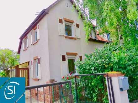 Obrigheim   kleine Doppelhaushälfte mit Innenhof und Garten