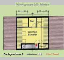Möbliertes Dachgeschoss-Apartment in Köln Wahnheide