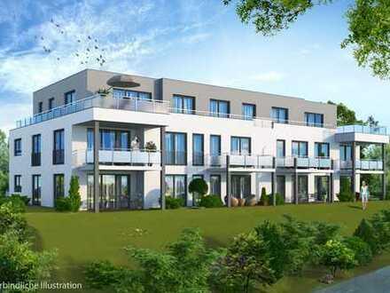 * 2 Zimmer-Erdgeschosswohnung mit sonniger Terasse und Garten! *