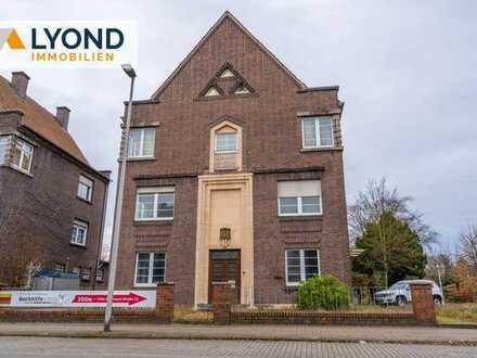 Diese geräumige Stadtvilla in Hamm mit ausreichend Potenzial kommt zum Verkauf!