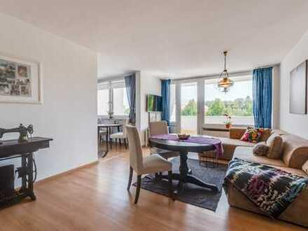 Sendling - Helle 2-Zi-Wohnung mit Balkon und Einbauküche