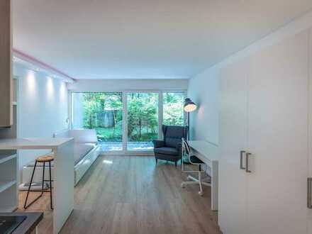 Neues hochwertiges, möbliertes Apartment mit Terrasse