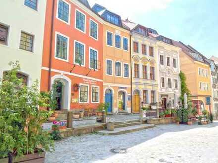 Moderne 1-Raum-Wohnung mit EBK - gemeinschaftliche Terrasse in der Altstadt von Bautzen