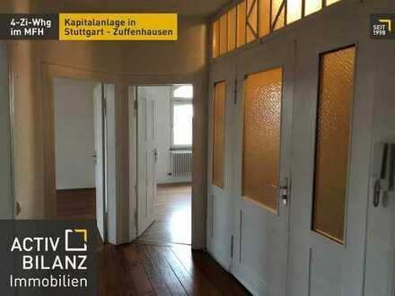 Provisionsfreie Kapitalanlage: 4 Zi.-Whg. zentral in Stuttgart Zuffenhausen