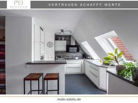 Maisonette-Wohnung mit traumhafter Dachterrasse in begehrter Wohnlage von Neu-Isenburg