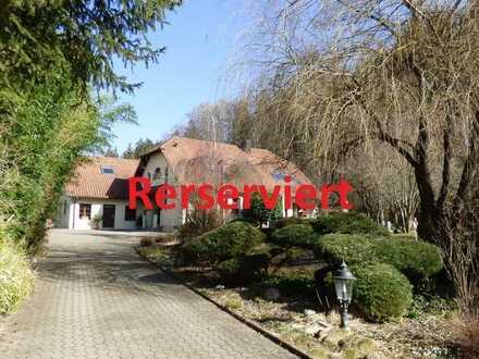 ländliches Paradies am Furtbach Einfamilienhaus mit Anbau und eigenem Park