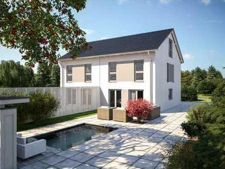 Neubau Doppelhaushälften in guter Nachbarschaft mit großem Grundstück