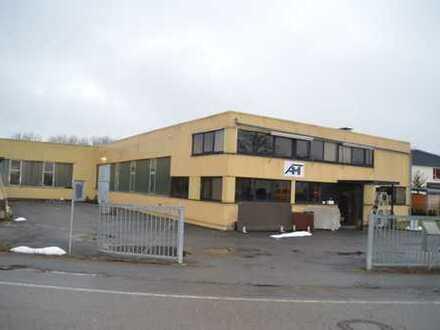 Industriehalle / Produktion Halle mit Bürogebäude in Bad Schussenried zum Verkaufen