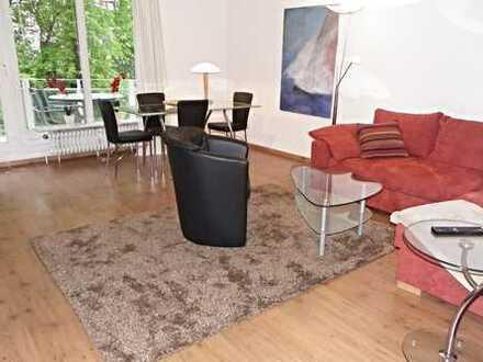 hochwertig möblierte Wohnung mit Balkon / Vollbad / Telefon-und Internet / Pauschalmiete 1.695.00