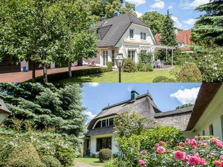 Oberneuland: großes Grundstück mit zwei Häusern