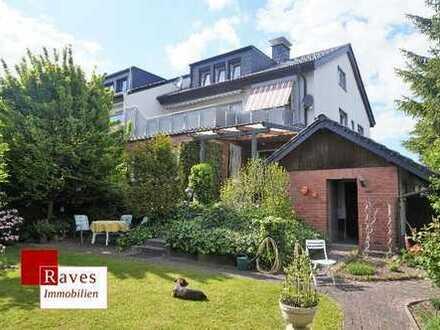 Modernisiertes Ein- bis Dreifamilienhaus mit schönem Garten in Waltrop!