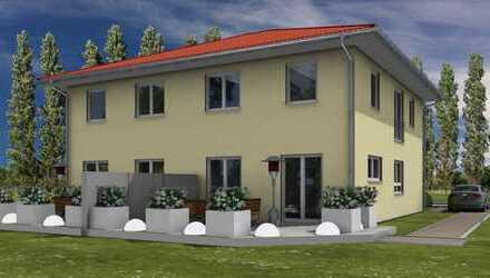 Doppelhaushälfte in Biesdorf - als KFW 55 Haus.