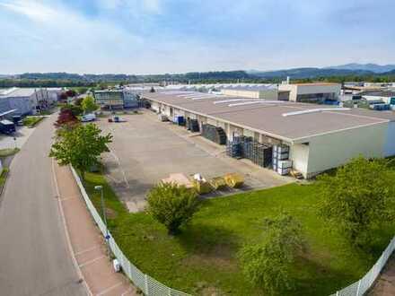 Produktion und Lager nah an der Schweizer Grenze kaufen oder mieten!