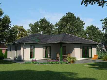 Usedom, Lütow, Altersruhesitz, ................ gepl. 124 m² Winkelbungalow mit 800 m² Bauplatz