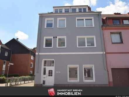 Woltmershausen / Toll geschnittene 4-Zimmer Wohnung mit Gartennutzung