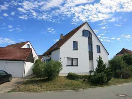 Wohnen wie im Doppelhaus - geruhsam, stadtnah - östlich von Frankenberg