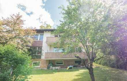 Helle 4-Zimmer-Wohnung mit großem Balkon & Gartennutzung in Coburg zu vermieten!