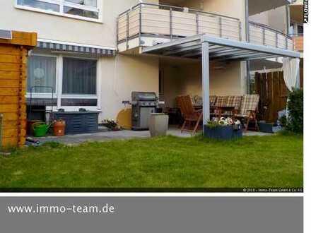 +++wunderschöne Wohnung mit großem Garten und überdachter Terrasse+++