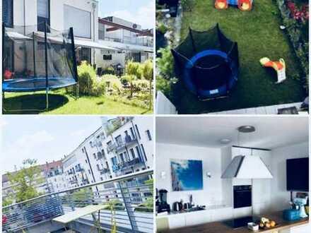 FOR RENT - ZUM MIETEN / City house in GoHo - STADTHAUS in GoHO / Garden, Roofterrace, Garages
