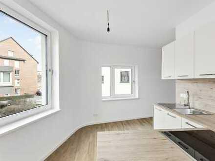 Hochwertige 3-Zimmer-Neubau-Wohnung mit Einbauküche & Balkon
