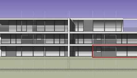 Sonnendurchflutete EG-Wohnung mit Terrasse und ca. 232 qm Gartenanteil im Sondernutzungsrecht