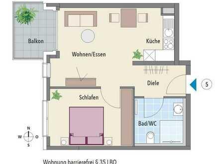 Ideale Einsteigerwohnung mit Balkon