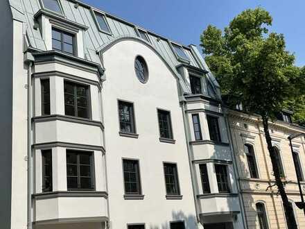 Traumhafter Rheinauenblick mitten in Kaiserswerth: Neubau 4-Zimmer Wohnung im 3.OG