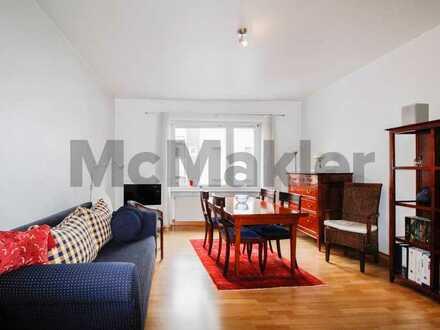 Altbaucharme kombiniert mit modernem Wohnkomfort: 2-Zi.-ETW mit Loggia im Herzen von Düsseldorf