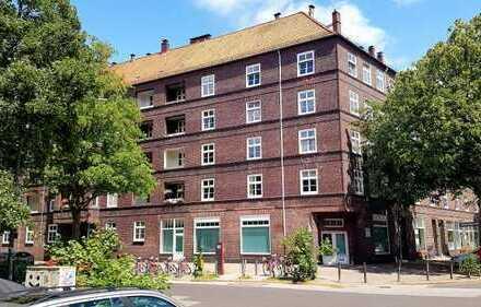 Sanierte 2 Zi. Altbau-Wohnung in Barmbek-Süd