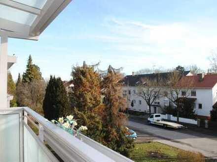 Gut geschnittene, ruhige 3-Zi.-Whg. mit Südbalkon inklusive Einzelgarage in Dachau