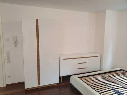 stilvolle, möblierte 1-Zimmer-Erdgeschosswohnung mit EBK in Nufringen