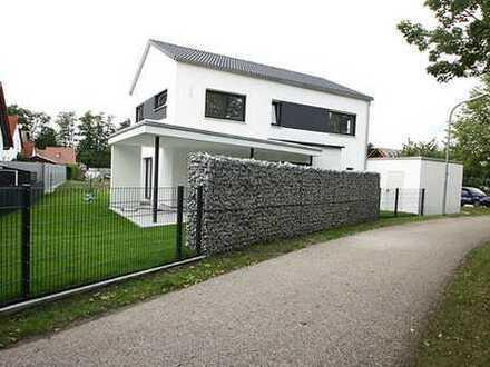 **nur 1,785% (inkl. MwSt.) Provision** Neubau: Einfamilienhaus mit 4,5 Zimmer, Terrasse und Garage.