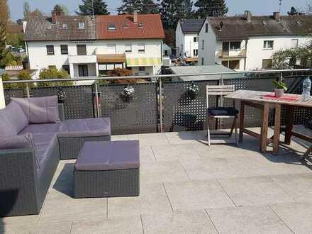 Schöne helle VOLLMÖBLIERTE 2 Zi-Wohnung in Karlsruhe