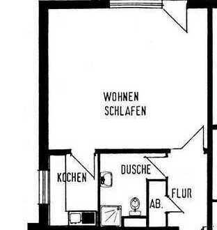 1-Zimmerwohnung mit Loggia