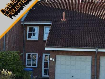 Reihenmittelhaus mit Garage in gefragter Wohnlage in Heide/Ost, Kreis Dithmarschen