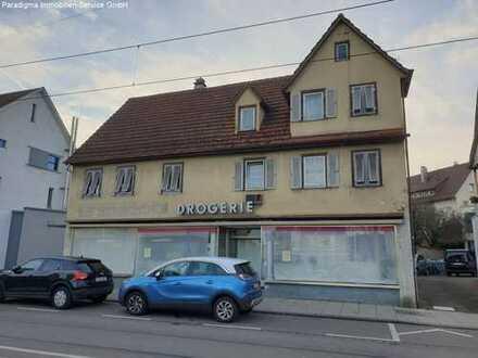 Laden mit Wohnraum in zentraler Lage in Stammheim