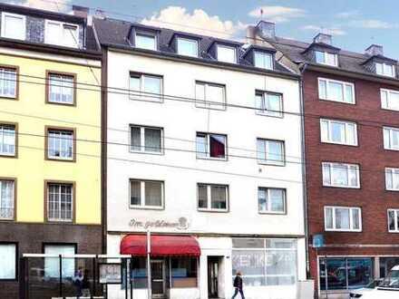 Seltene Erwerbsgelegenheit! Wohn- und Geschäftshaus in Flingern-Nord!