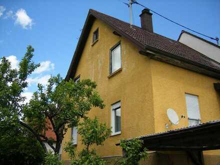 Ansprechendes 4-Zimmer-Haus zum Kauf in Nürtingen-Reudern Provisionsfrei