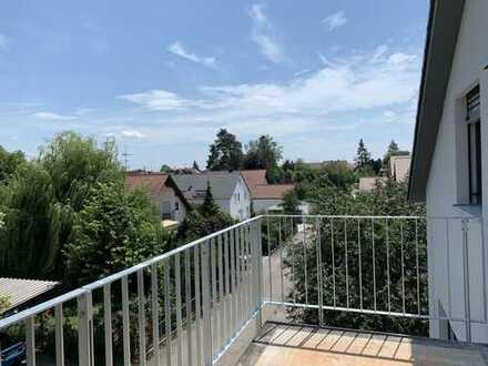 Erstbezug großzügige 100qm-Wohnung mit großem Ostbalkon in Neuburg / Do.