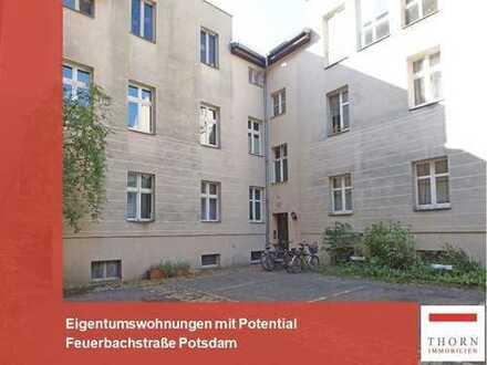 Gut vermietete 4 Zimmer Wohnung mit Garten - Eigennutzung möglich