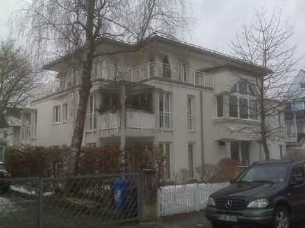 Stilvolle, gepflegte 1-Zimmer-Wohnung mit Balkon am Perlacher Forst, München