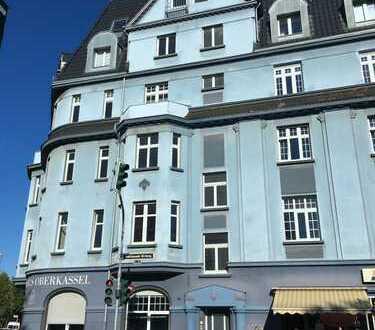 Helle gut geschnittende 3 Zimmer Altbau Wohnung in Düsseldorf Oberkassel zur Miete