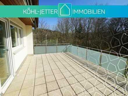 Renoviertes, sonniges Einfamilienhaus mit großer Dachterrasse in Balingen-Frommern!