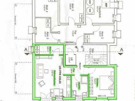 Moderne 2 Zimmer Wohnung mit Terrasse, Carport mit Abstellbox und Einbauküche (65m2 Wohnfläche)