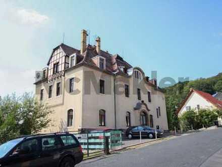 Für Familien, Freiberufler o. Kapitalanleger: Traumhafte Altbauvilla mit großem Garten nahe Dresden