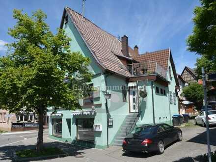 GI** TOP LAGE !!! Vermietetes Wohn- und Geschäftshaus zentral gelegen in Steinenbronn